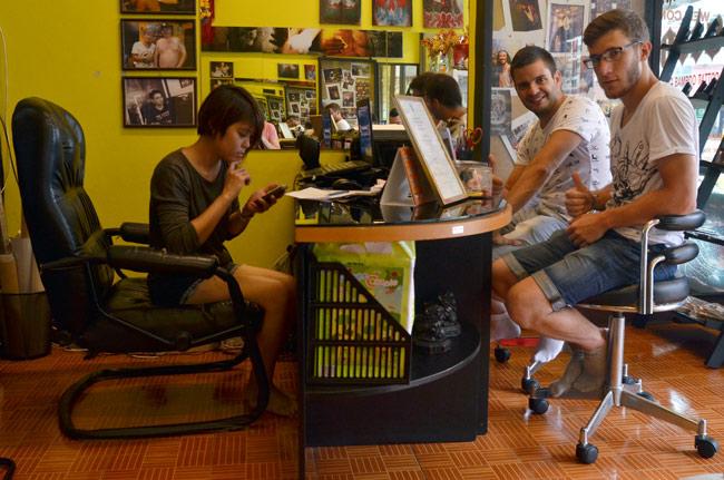 En el Master del Tatto en Chiang Mai (Tailandia)