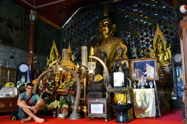 En el Wat Phrathat Doi Suthep