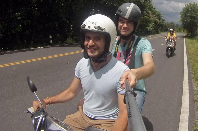 Recorriendo Chiang Mai en moto (Tailandia)