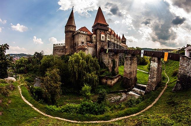 Castillo de Corvin (Rumanía)