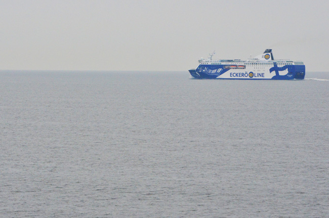 Ferry que conecta Tallin (Estonia) con Helsinki (Finlandia)