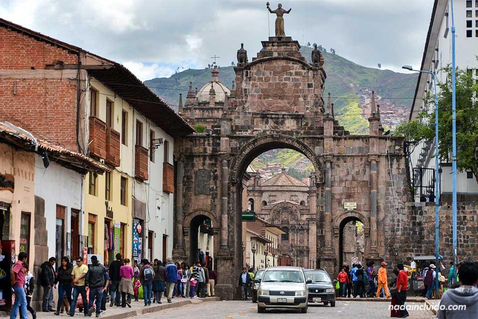 Cuzco,-Arco-de-San-Pedro-(I)