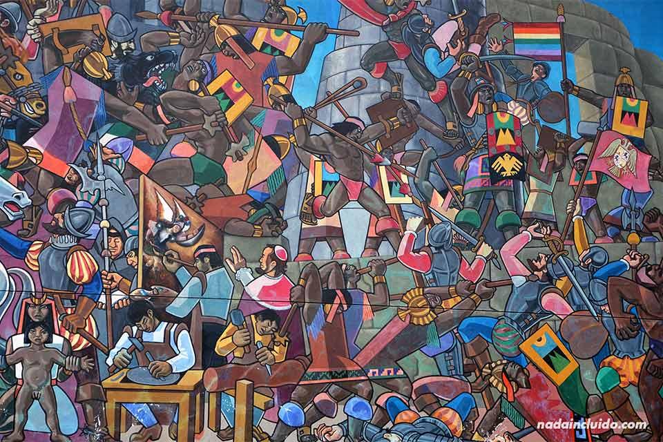 Cuzco,-mural-(II)