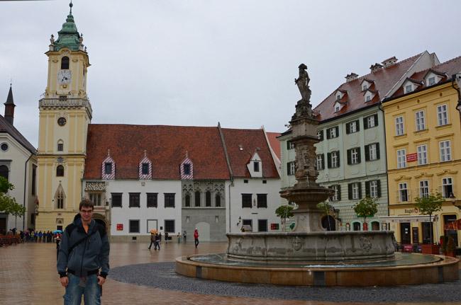 Fuente de Roland, Bratislava (Eslovaquia)