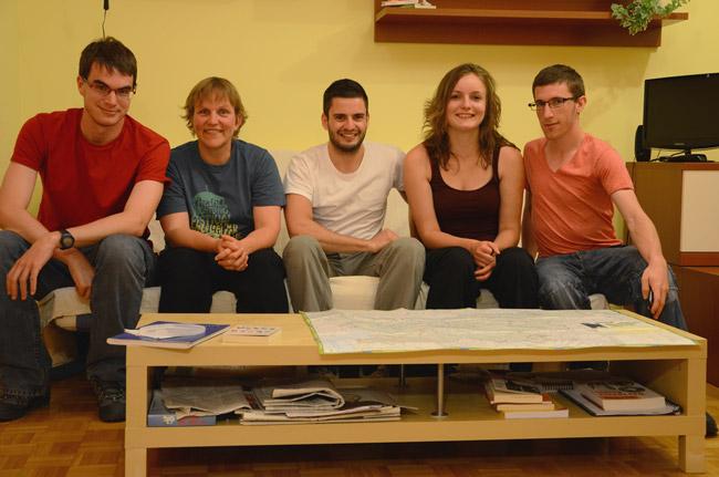 Eslovenia, Ptuj, casa de Anke, una couchsurfing