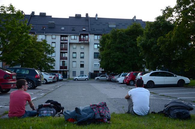 Eslovenia, Ptuj, barrio residencial