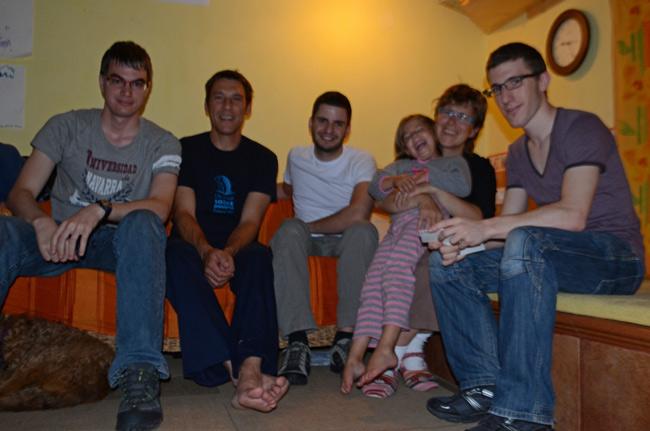 Eslovenia, Svino, casa de Aurora, una Couchsurfing
