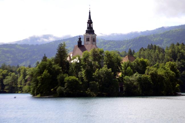 Eslovenia, lago Bled
