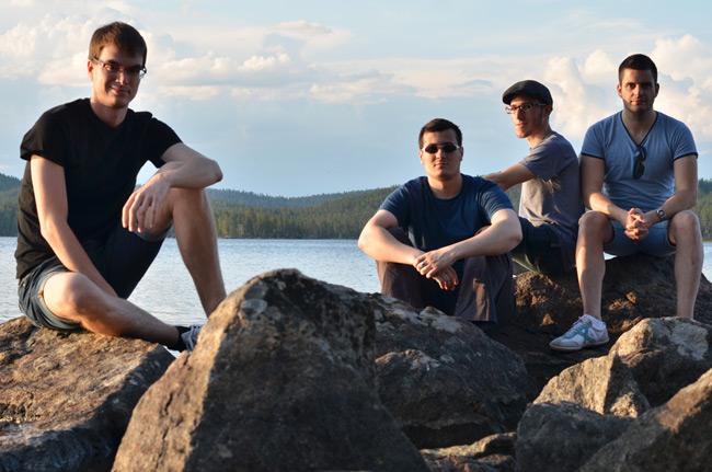 En el lago Inari, en Ívalo, al norte de Finlandia