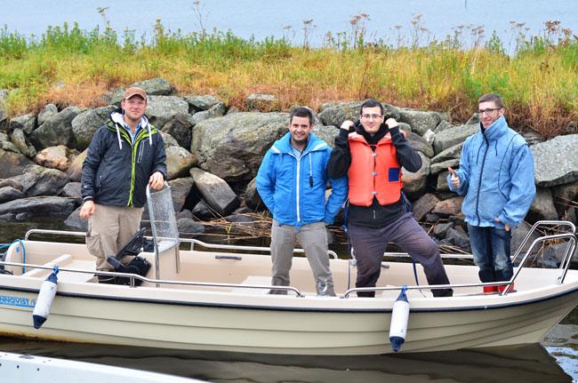 Paseo en bote por Petalax (Finlandia)