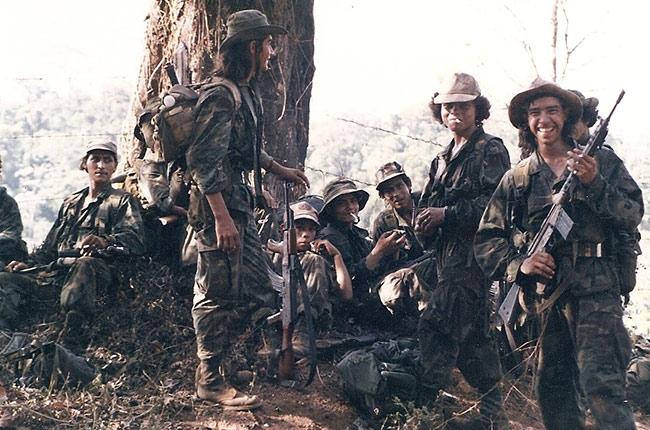 Soldados durante la Guerra de Nicaragua