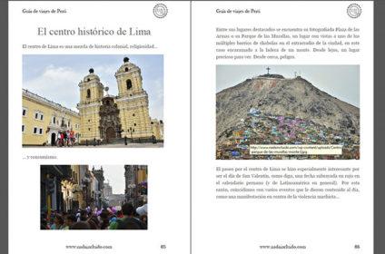 Captura de la Guía de viajes de Machu Picchu y Perú de Nada Incluido