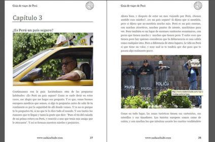 Captura de la Guía de viajes de Perú de Nada Incluido
