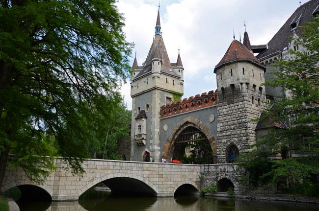 Castillo de Buda, en Budapest (Hungría)