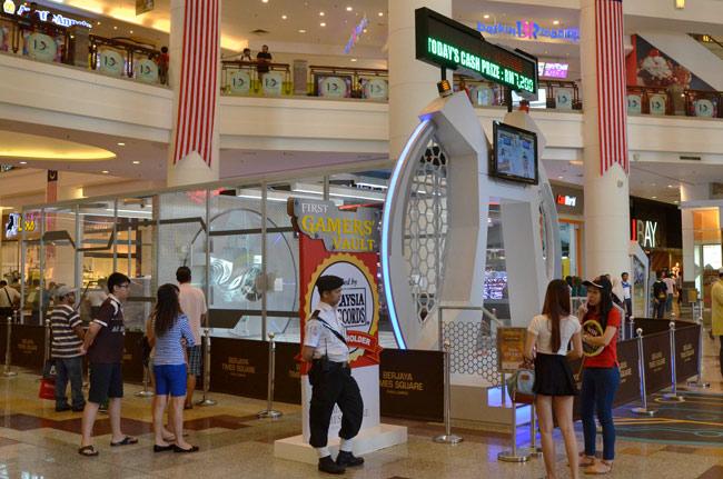 Juego en el Berjaya Times Square, Kuala Lumpur (Malasia)