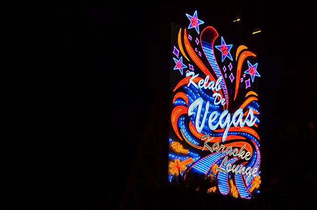 Las Vegas en Bukit Bitang, Kuala Lumpur (Malasia)