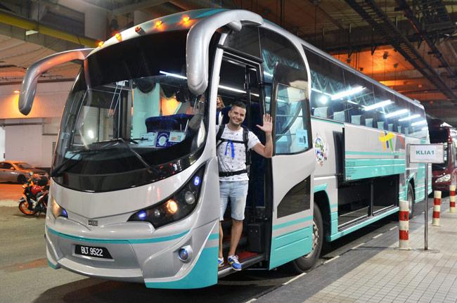 Autobús al aeropuerto de Kuala Lumpur (Malasia)