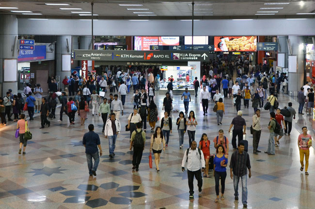 Kl Sentral Station (Kuala Lumpur, Malasia)