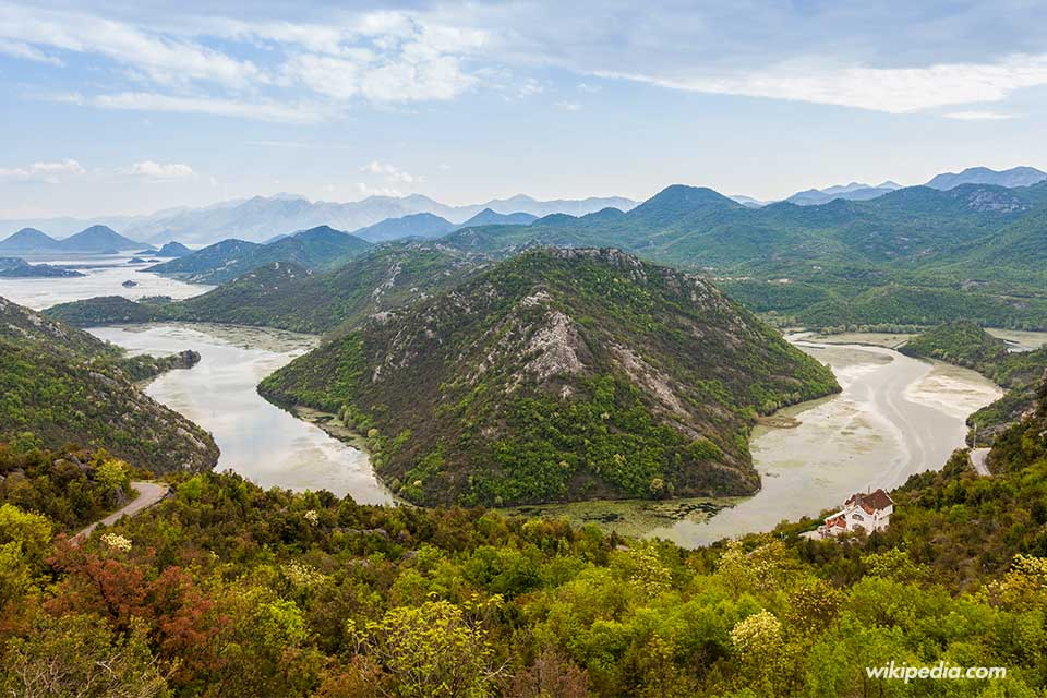 Lago Skadar (Montenegro) - Foto Wikipedia