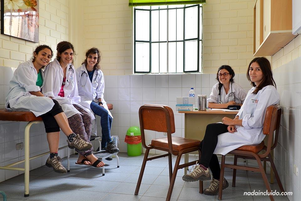 Lima, Jicamarca, consultorio médico