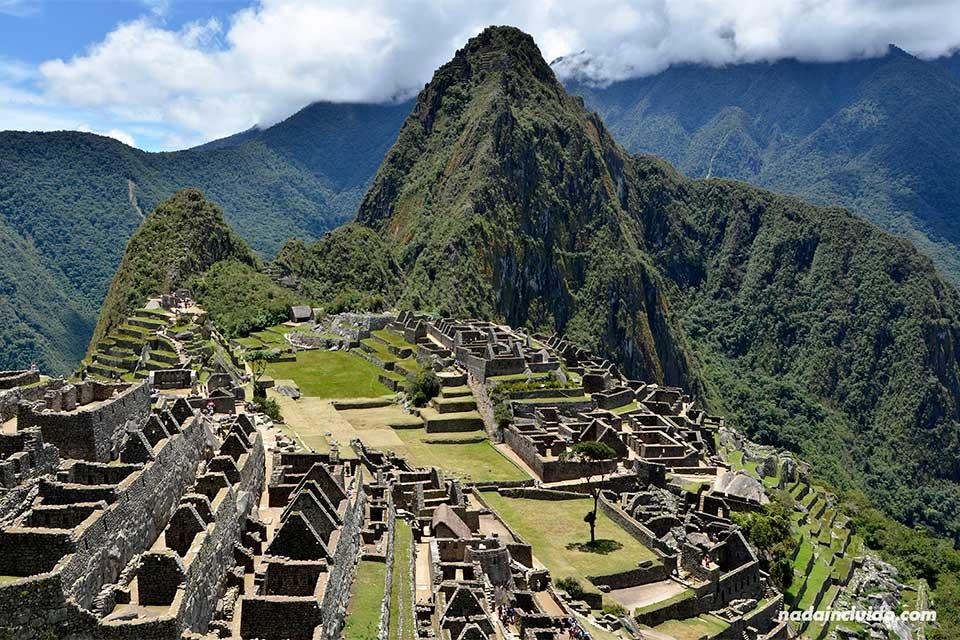 Machu Picchu, vista de la ciudad sagrada desde el mirador