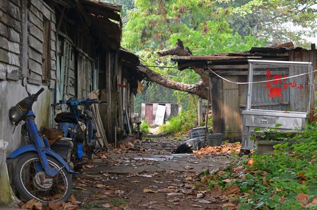 Barrio a las afueras de Malaca (Malasia)