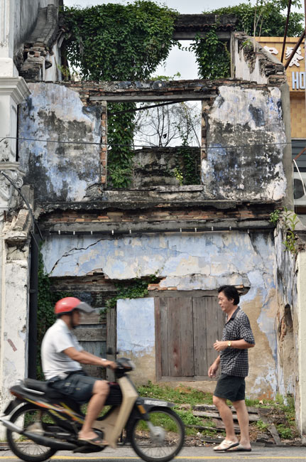 Alrededores de Malaca (Malasia)