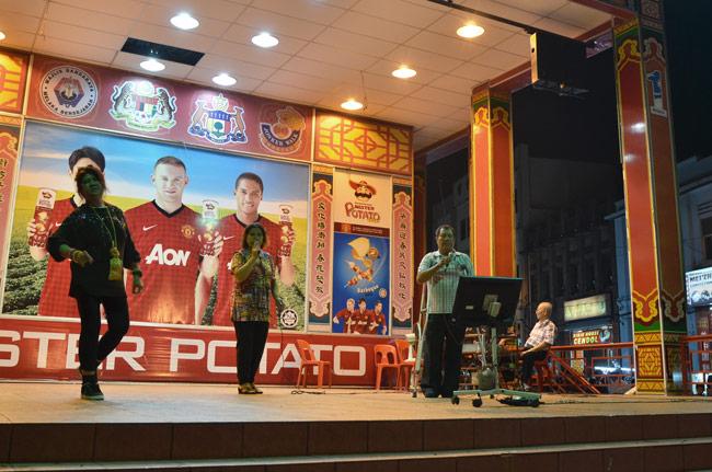 Karaoke en Jonker Street (Malaca, Malasia)