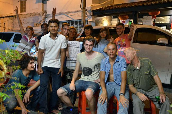 Amigos en Malaca