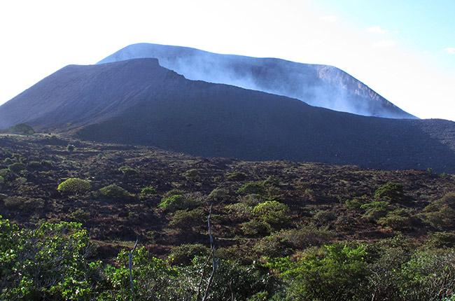 Volcán Telica, Nicaragua. Foto de Wikipedia.