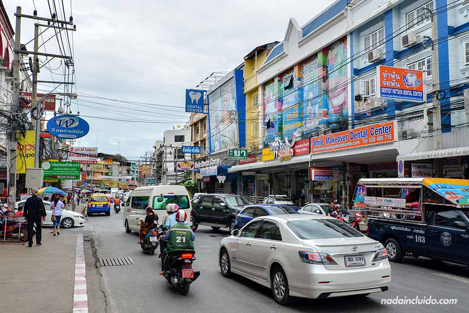 Pattaya (Tailandia) de día