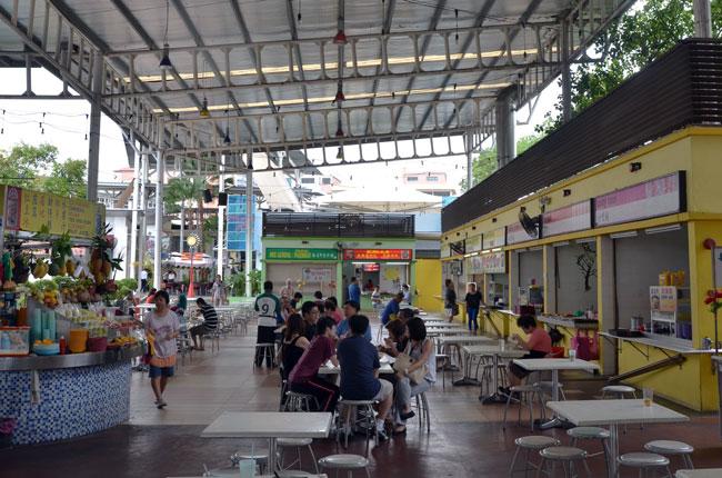 Restaurante de comida china en Georgetown (Penang, Malasia)