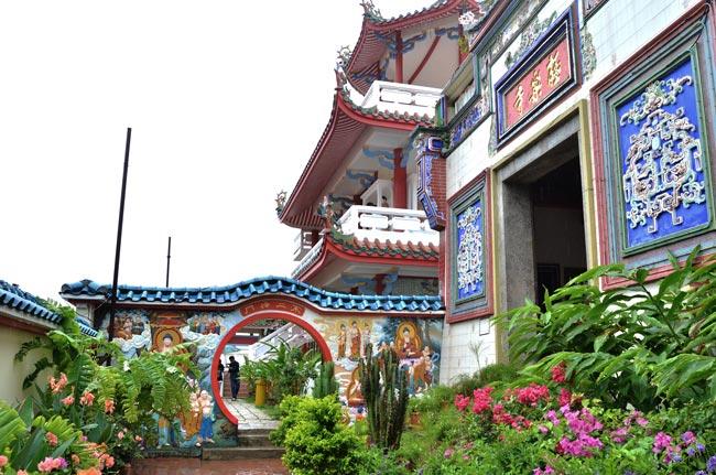 Puerta Kek Lok Si Temple (Penang, Malasia)