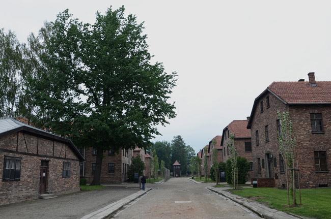 Campo de concentración de Auschwitz, plano general