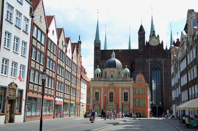 Calle Grobla, Gdansk (Polonia)