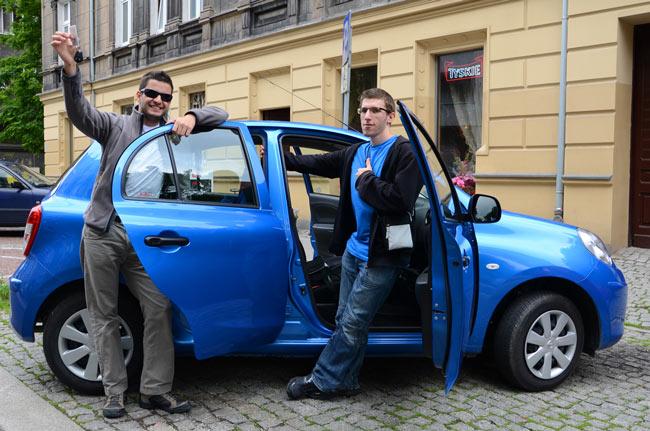 Coche de alquiler en Polonia para ir de Katowice a Gdansk