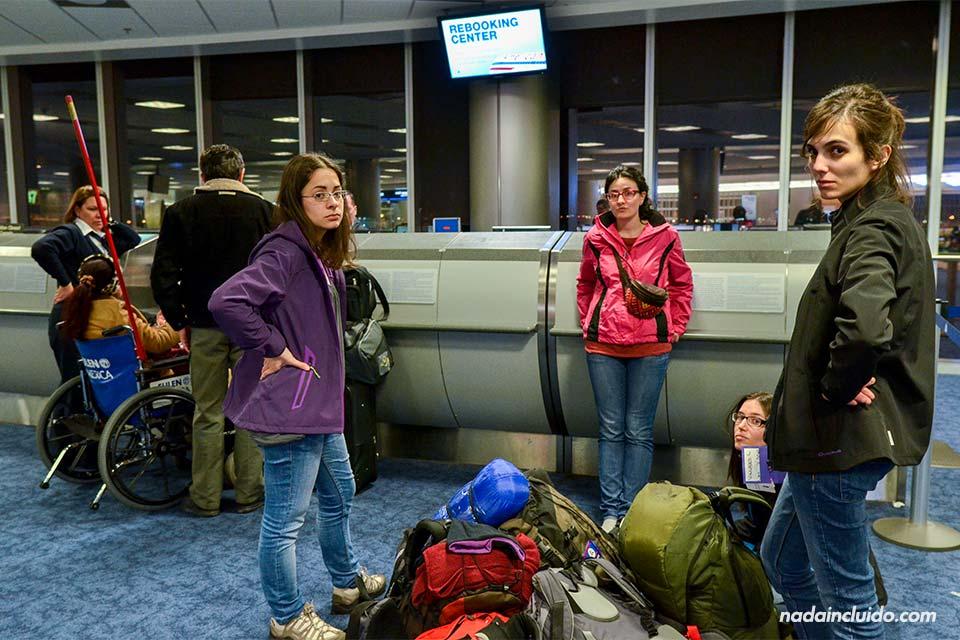 Aeropuerto de Miami. Rebooking-center-(M,M,A&L)