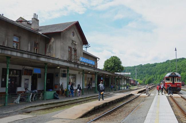Estación de tren de Mlada Boleslav (República Checa)