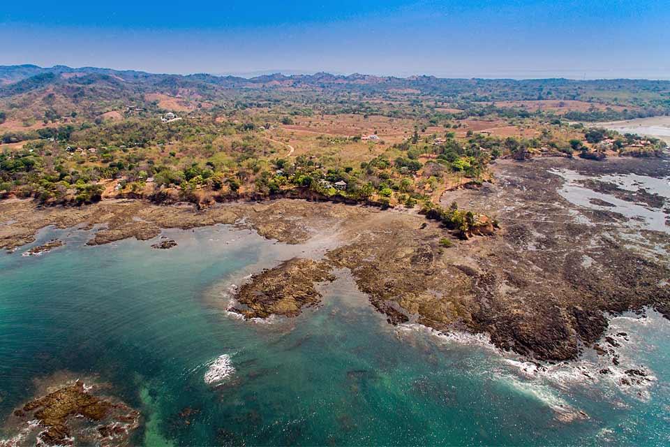 Foto aérea de Santa Catalina - Panamá (foto de Dronepicr)