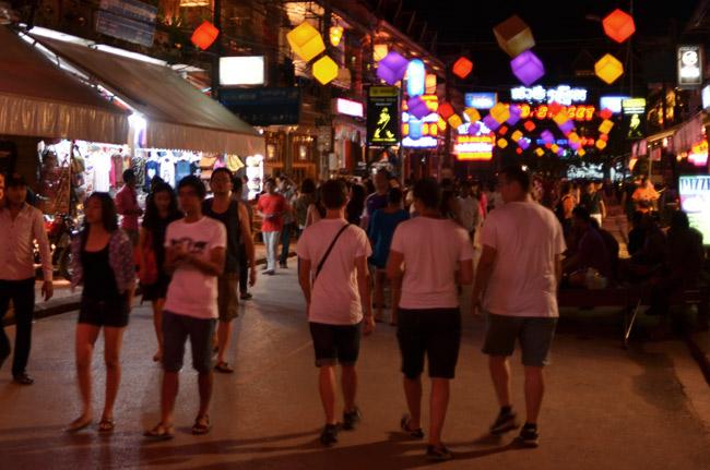 Paseando por la Pub Street de Siem Reap (Camboya)