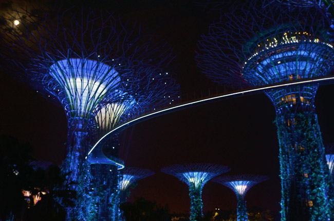 Gardens By the Bay, Supertree Groove (Singapore)