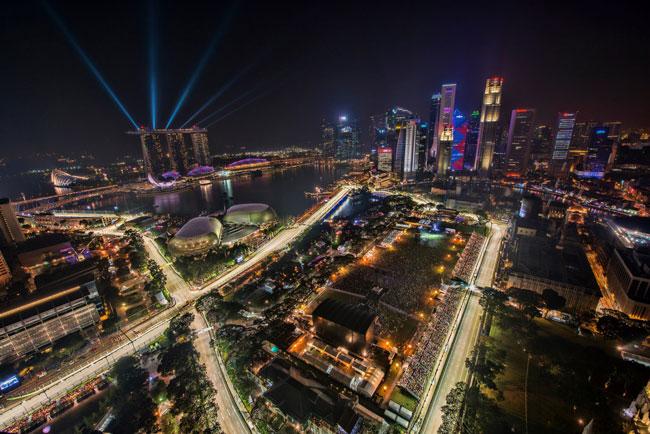 Singapore de noche