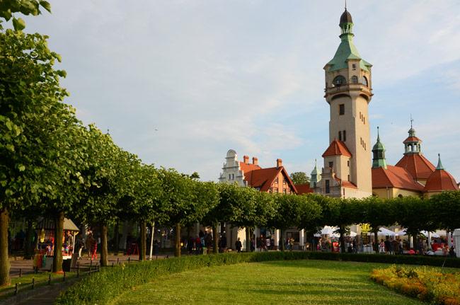 Plaza principal de Sopot (Polonia)