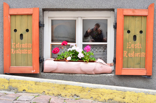Restaurante típico de Estonia en Tallín
