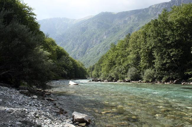 Cañón del río Tara, en Montenegro