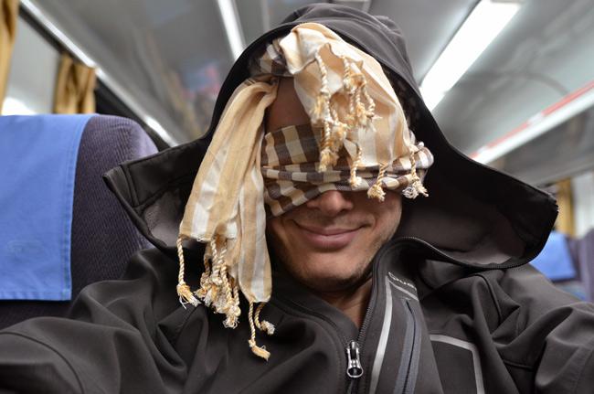 Pasando mucho frío en el tren cama de Kuala Lumpur a Singapur