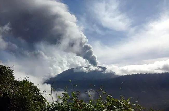 Erupción Turrialba