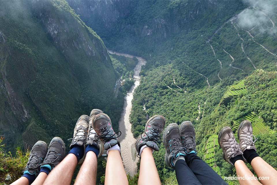 Machu Picchu, vista desde la cima del Wayna Picchu
