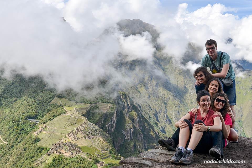 Vistas de Machu Picchu desde Huayna Picchu