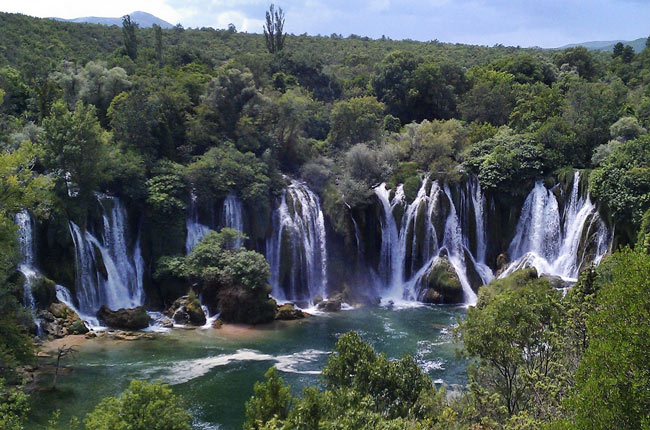 Catarata Kravice (Bosnia)
